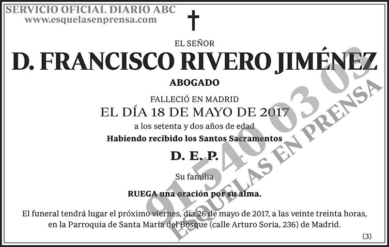 Francisco Rivero Jiménez